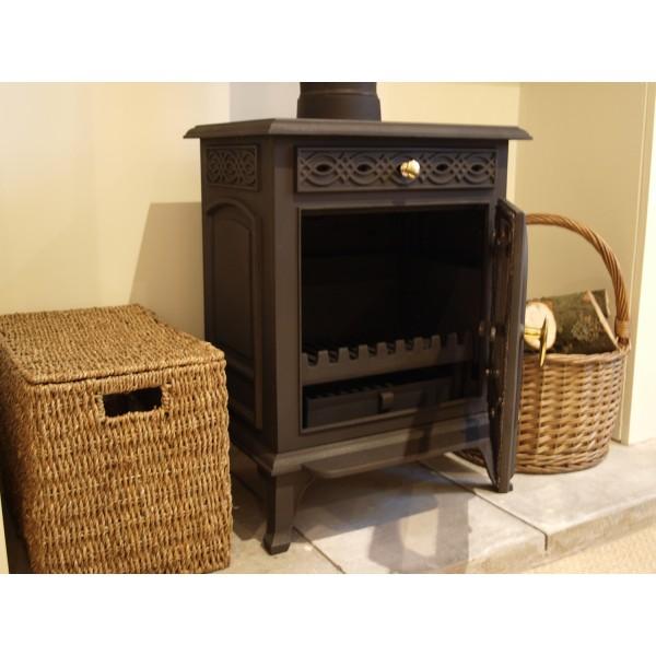 buckingham 8kw gusseisen holzbrenner holz kohle ofen. Black Bedroom Furniture Sets. Home Design Ideas