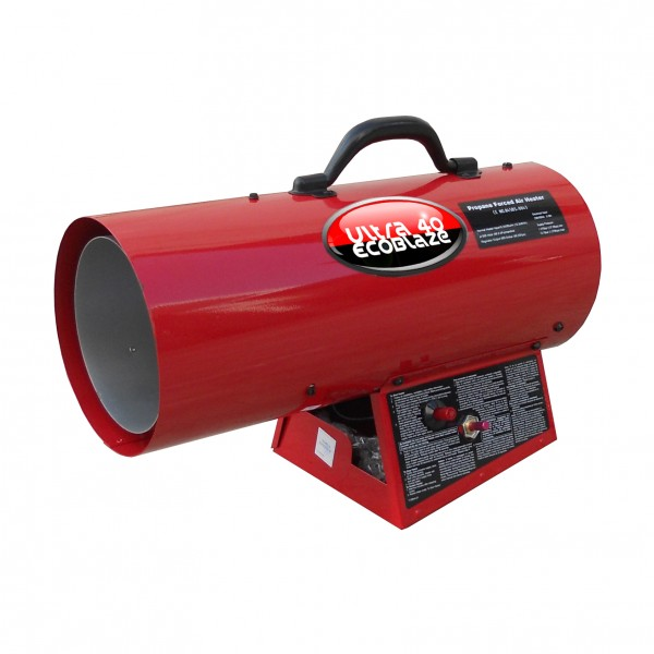Propane Powered Blower : Gas propane heater blower warehouse workshop space warmer
