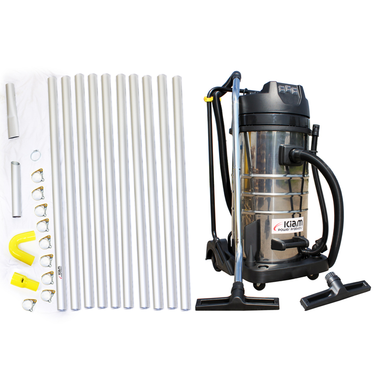 Kiam Gutter Cleaning System Kv100 3 Wet Amp Dry Vacuum