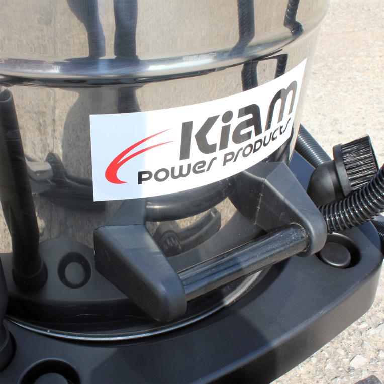 Kiam Kv80 3 80l Industrial 3 Motor 3600w Wet Amp Dry Vacuum