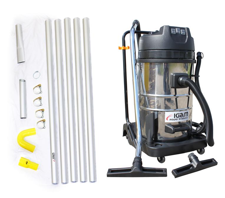 Kiam Gutter Cleaning System Kv80 Industrial Wet Amp Dry