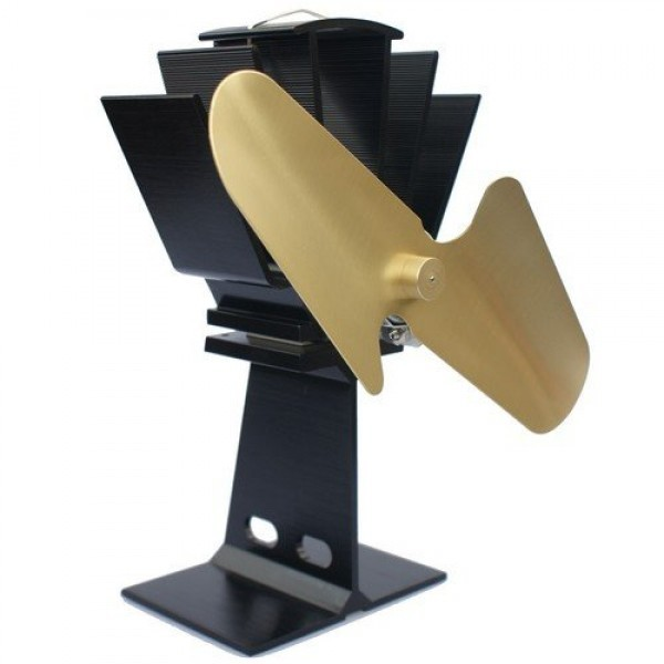 Wood Stove Fan : Details about Heat Powered Stove Fan Wood Log Burner Top Eco Friendly ...