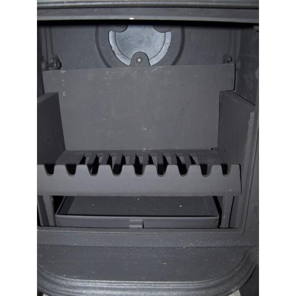 Westminster 6kw cast iron log burner multifuel wood coal burning stove ebay - Small space wood stove model ...