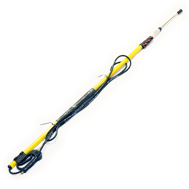 24ft Pressure Wash Telescopic Pole Lance Extendable Karcher K-Series Compatible