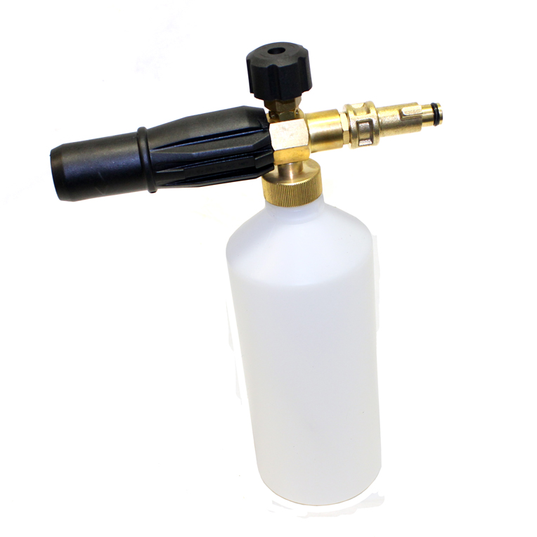 Snow foam lance variable nozzle spray bottle for bosch