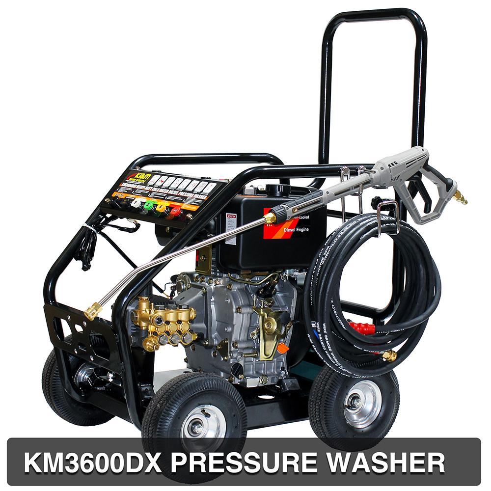 Diesel Pressure Power Jet Washer Kiam Km3600dx 3600psi
